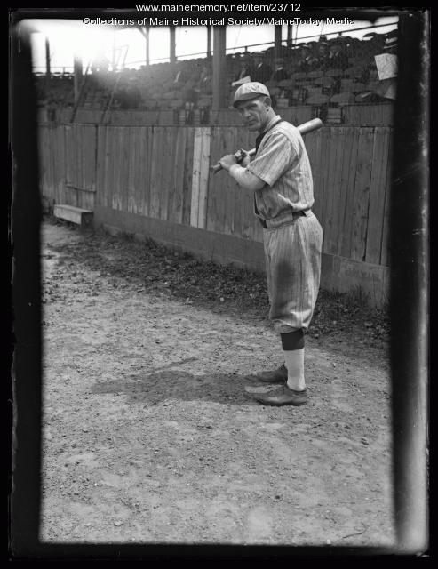 Bernard Kuhn, Portland Green Sox player, 1925