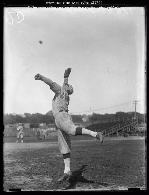 Lefty Leid, Portland Green Sox, 1925