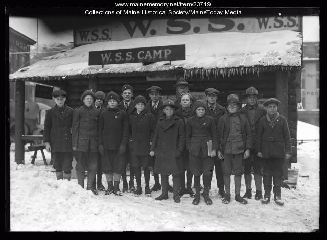 Boy Scouts, Portland, ca. 1920