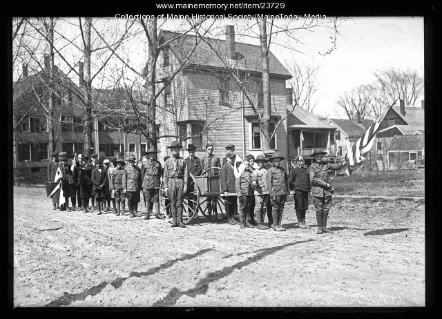 Boy Scouts, South Portland, 1921