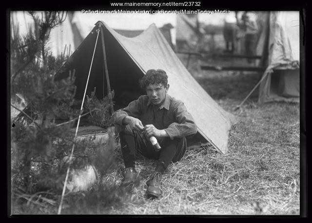 Boy Scout, Falmouth Foreside, 1921