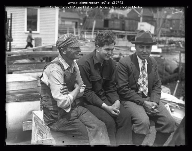 MacMillan Expedition ceremony, Wiscasset , 1926