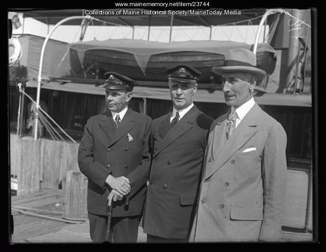 Donald B. MacMillan, Wiscasset, 1926
