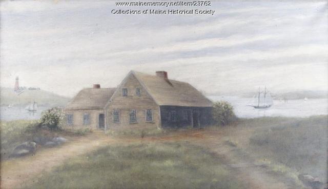 Ezekiel Cushing House, Purpooduck, ca. 1909