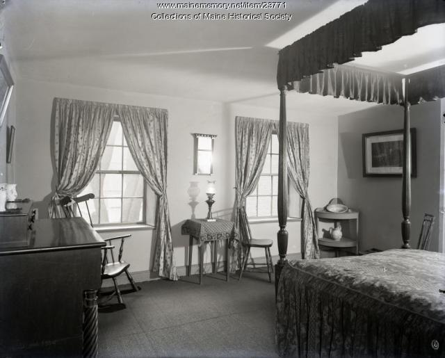 H.W. Longfellow's bedroom, Portland, 1904