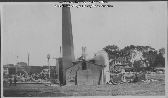 Somesville Fire, Saco, 1908