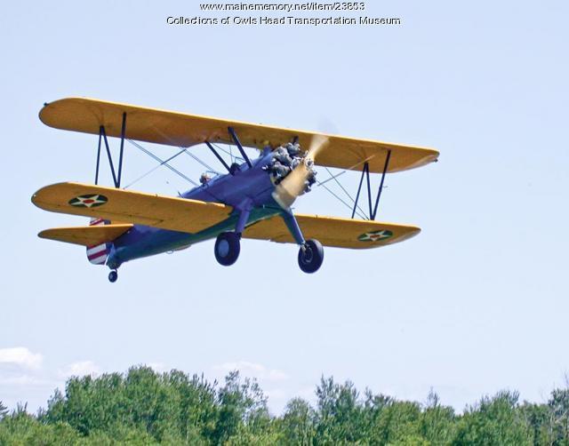 1941 Stearman A75N/1 Biplane (Original)