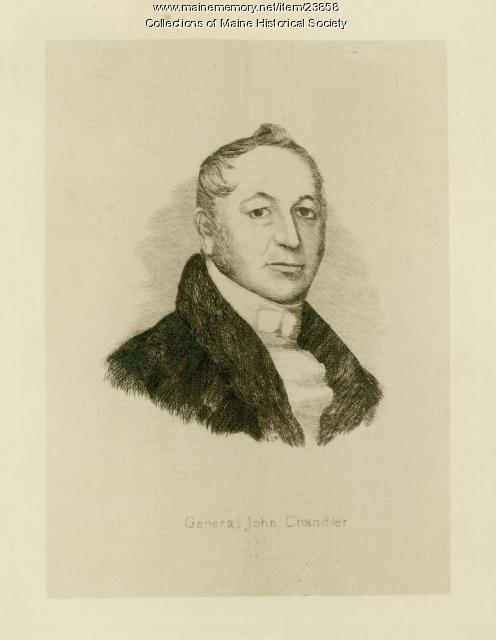 General John Chandler, Monmouth, ca. 1820