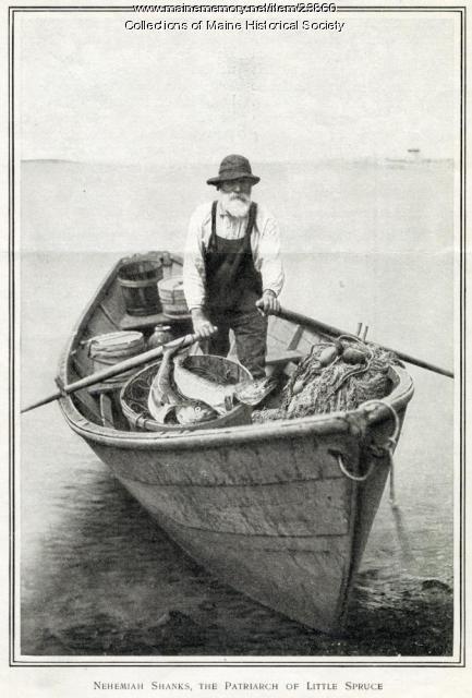 Nehemiah Shanks, Little Spruce Island, ca. 1909
