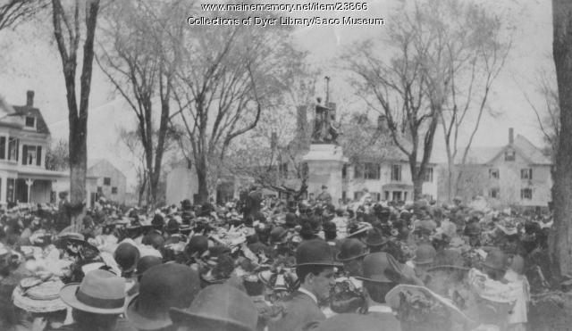Saco Monument Dedication, 1907