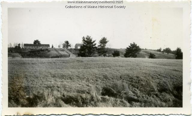 View of Pownal State School, 1939