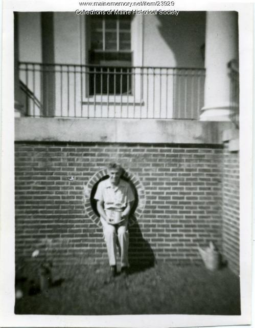 Richard J. Turcotte, Pownal State School, ca. 1945