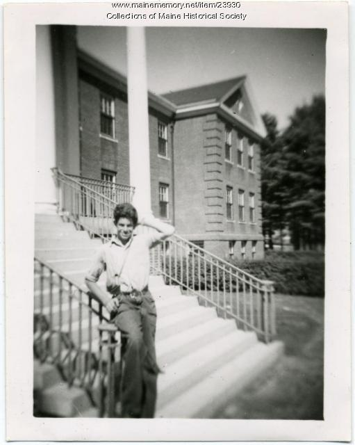 Richard Liberty, Pownal State School, ca. 1945