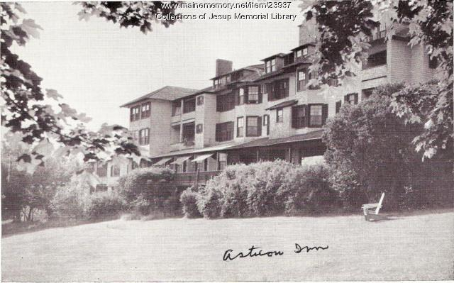 Asticou Inn, Northeast Harbor ca. 1950