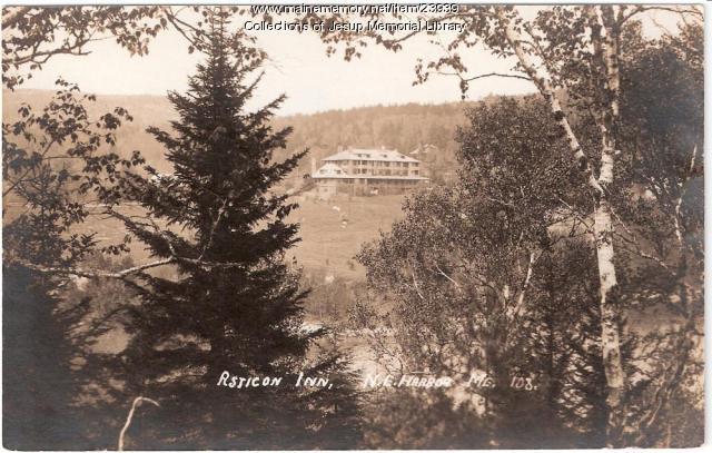Asticou Inn, Northeast Harbor, ca. 1920