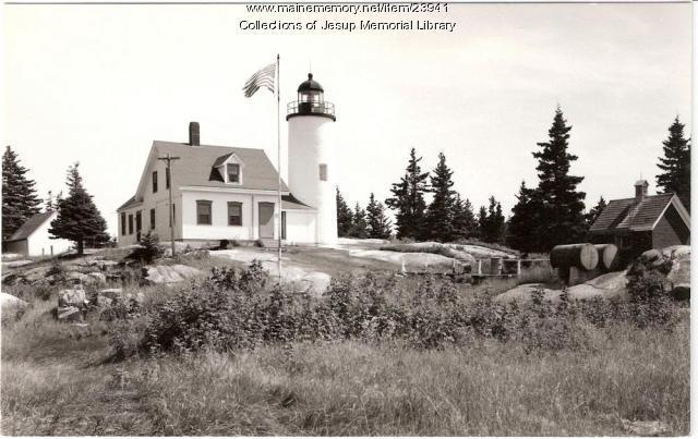 Baker Island Light, off Mt. Desert Island, ca. 1940