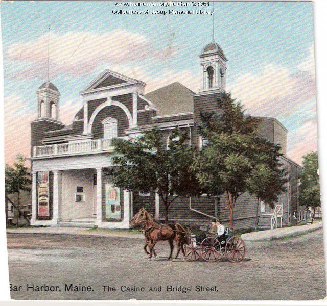 Casino and Bridge Street, ca. 1901