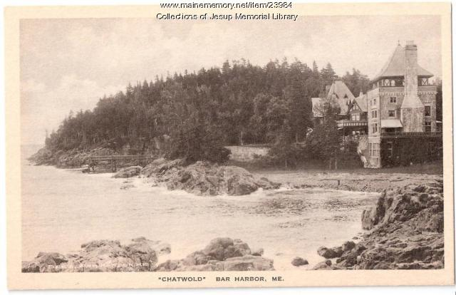 Chatwold, Bar Harbor, ca. 1900