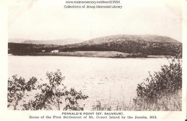 Fernald's Point, Southwest Harbor, ca. 1950