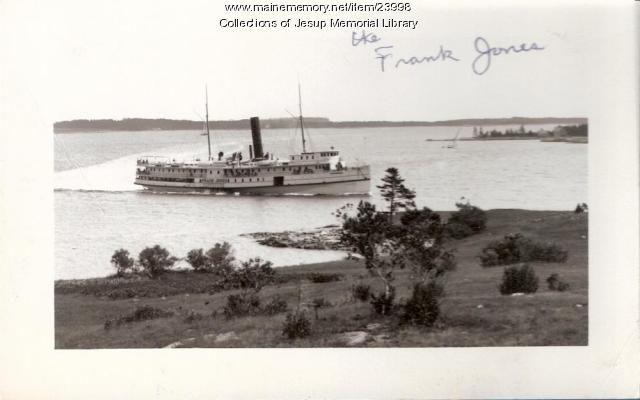 Steamer Frank Jones, Mount Desert Island, ca. 1940