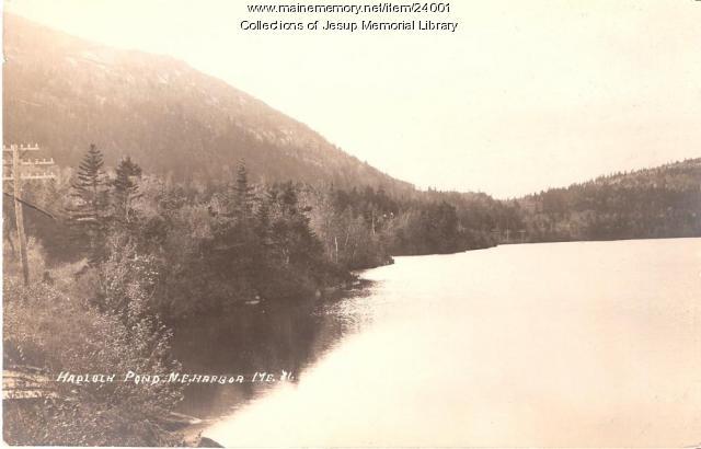 Hadlock Pond, Northeast Harbor, ca. 1930