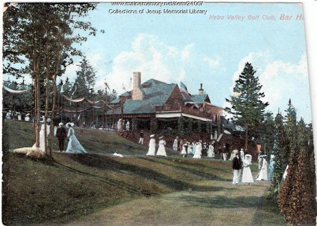 Kebo Valley Golf Club, Bar Harbor, 1907