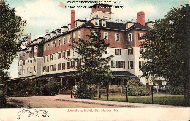 Louisburg Hotel, Bar Harbor, 1920