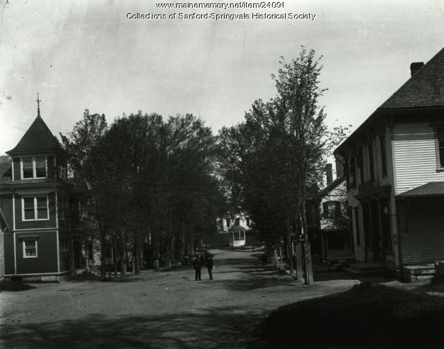 Main Street, Limerick, ca. 1890