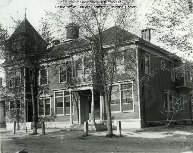 Limerick National Bank, Limerick, ca. 1890