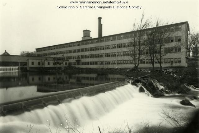 Sears & Roebuck Shoe Company, Springvale, ca. 1912