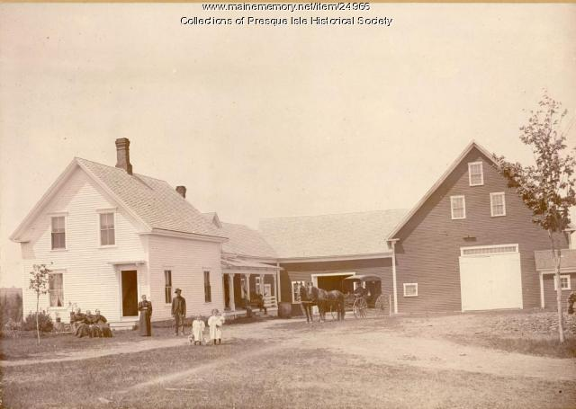 Daniel A. Gilman Homestead, Presque Isle, 1896