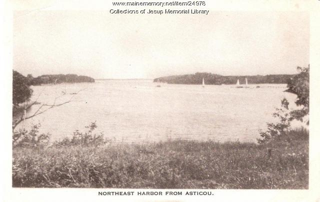 Northeast Harbor from Asticou, ca. 1915
