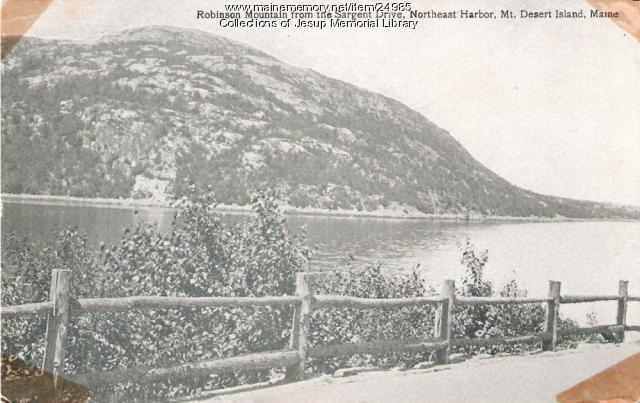 Robinson Mountain, Mt. Desert Island, ca. 1930