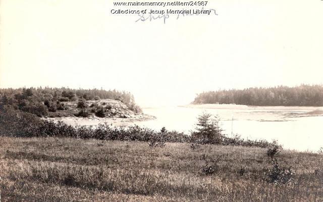 Ship Harbor, ca. 1900