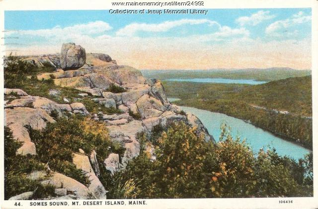 Somes Souns, Mt. Desert Island, ca. 1940