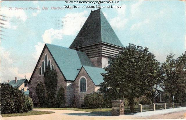 St. Saviour's Church, Bar Harbor, 1917