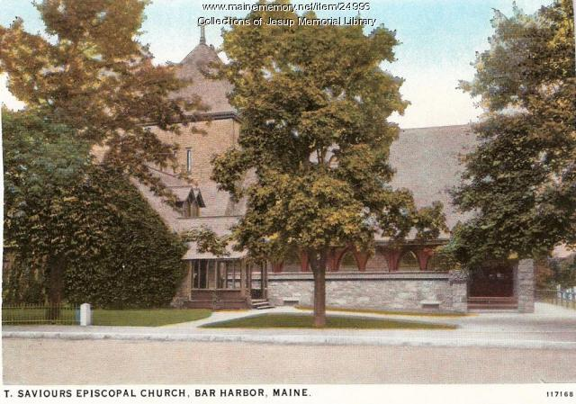 St. Saviour's Episcopal Church, Bar Harbor, ca. 1945