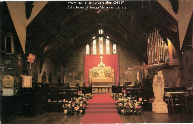 St. Saviour's Episcopal Church, Bar Harbor, ca. 1995