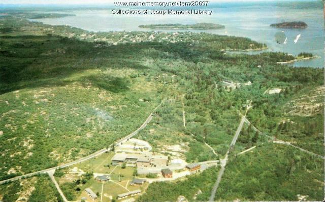 The Roscoe B. Jackson Memorial Laboratory, Bar Harbor, ca. 1960