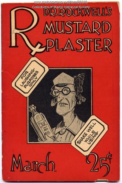 Dr. Rockwell's Mustard Plaster, March 1929