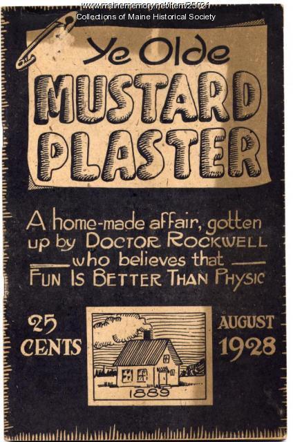 Ye Olde Mustard Plaster, 1928