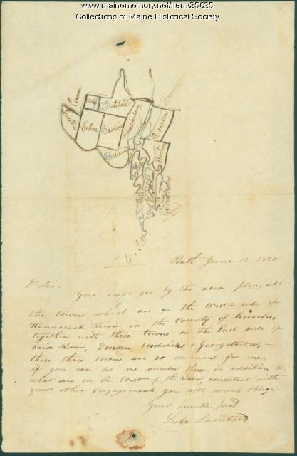 Luke Lambard on 1820 census