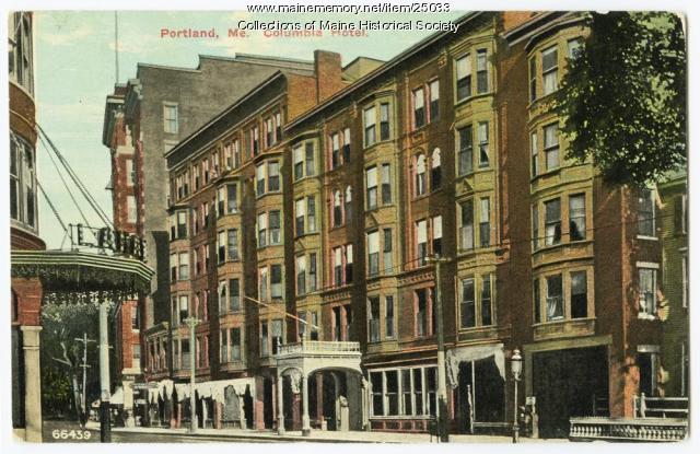 Columbia Hotel, Portland, ca. 1911