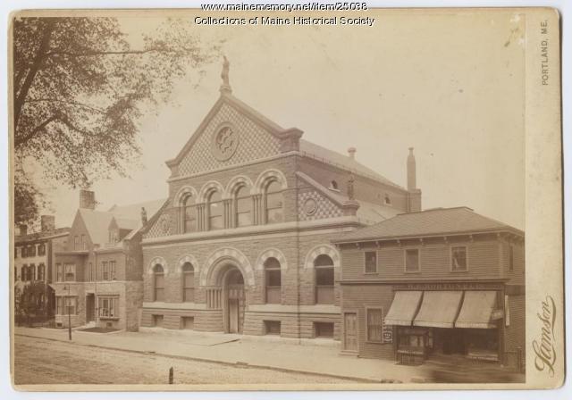 Portland Public Library, ca. 1889