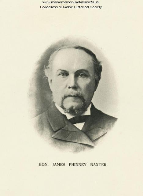 James Phinney Baxter, Portland, ca. 1890