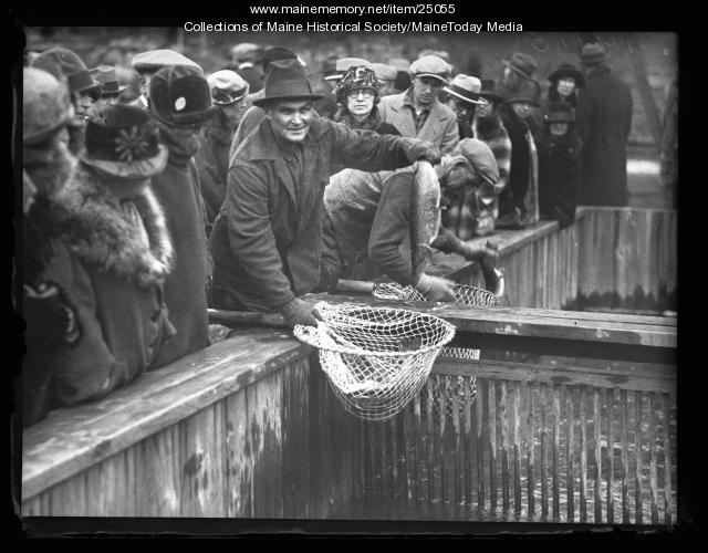 Fish Hatchery, Raymond, 1926