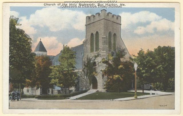 Church of the Holy Redeemer, Bar Harbor, ca. 1920