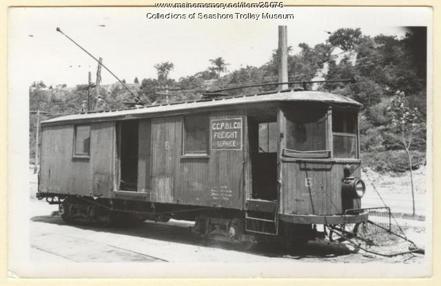 C.C.P. & L Co. Freight Service, ca. 1939