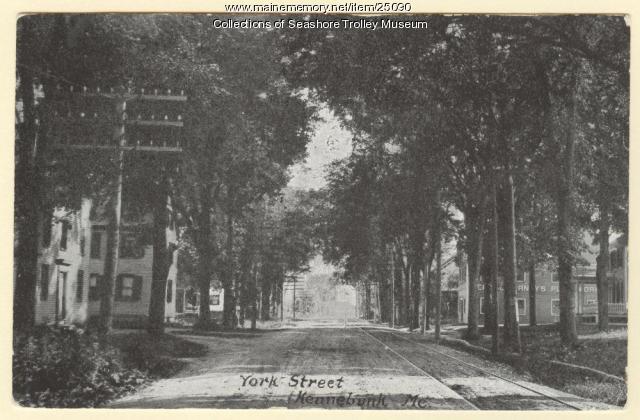 York Street, Kennebunk, ca. 1900
