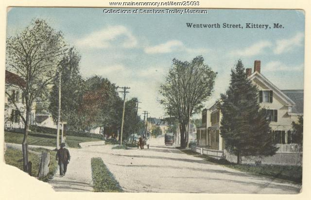 Wentworth Street, Kittery, ca. 1900